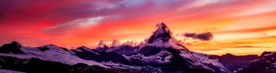Matterhorn Schweizer Alpen
